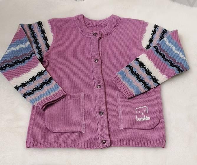 Bilde av Laska strikket jakke R